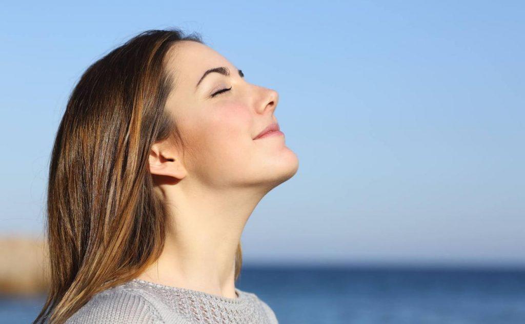 Oración para poder respirar bien